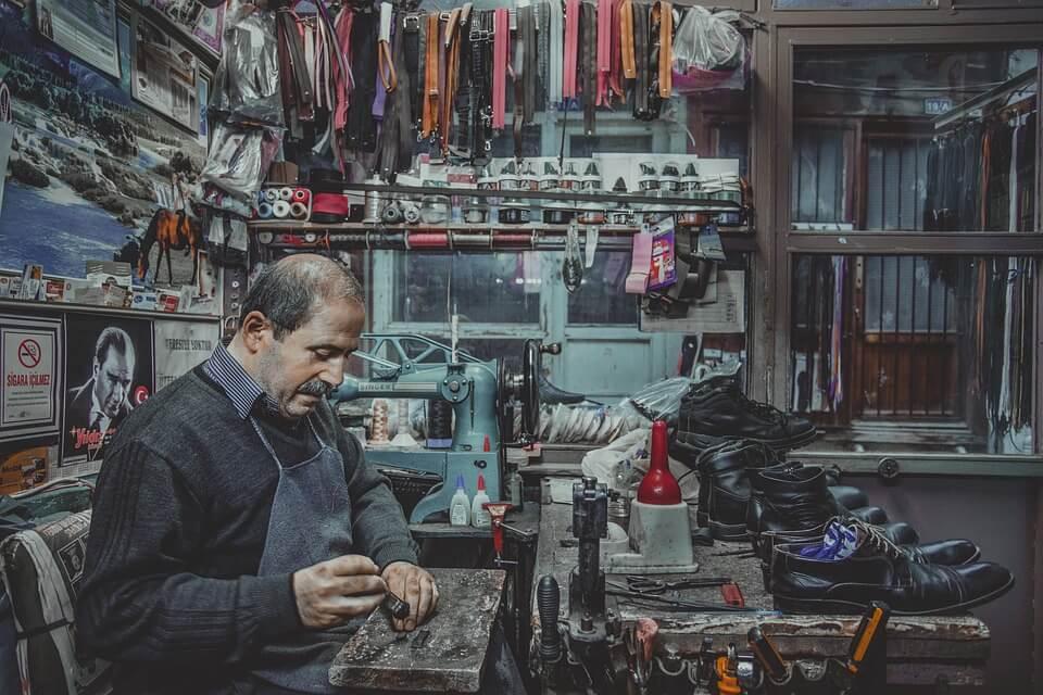 Аренда помещения под ремонт обуви