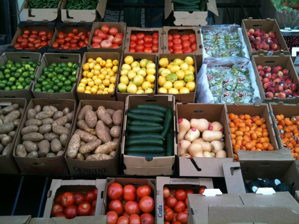 Условия хранения овощей