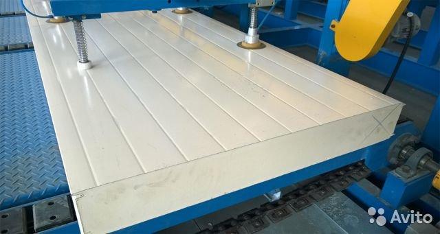 Технология изготовления сэндвич панелей